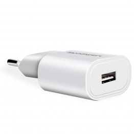 Chargeur secteur vers USB blanc pour iPhone 5 , iPhone 4 & 4S, iPhone 3GS3G, iPod Touch