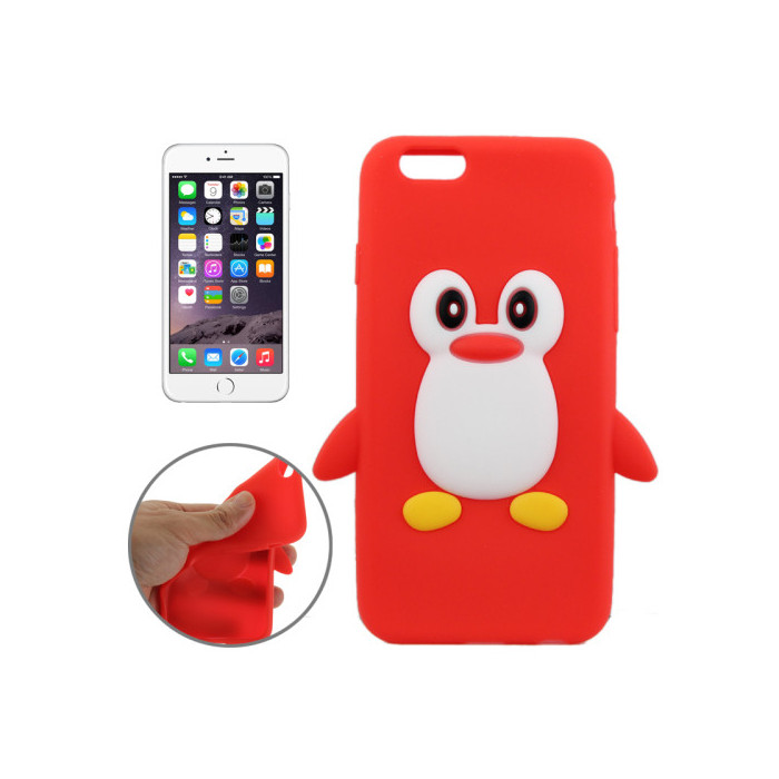 coque rouge iphone 6 silicone